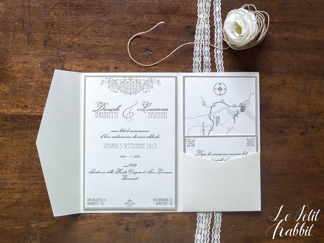 Romantic Wedding Invites