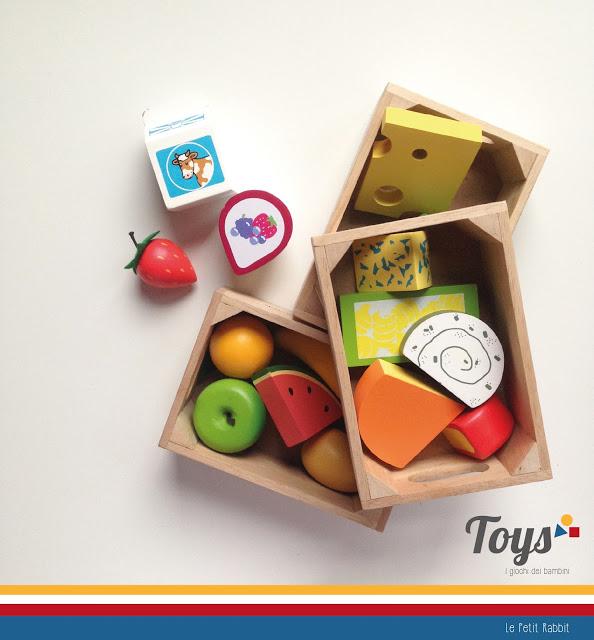 Toys: i giochi dei bambini: Food set