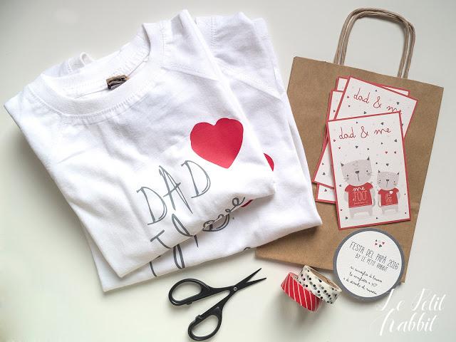 Le magliette per la Festa del Papà Le Petit Rabbit