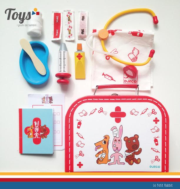 Toys: i giochi dei bambini. La valigetta del dottore