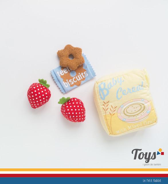 Toys: i giochi dei bambini. Il Food Set Tote