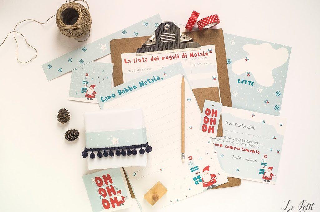 Free printable: il Kit del Magico Natale
