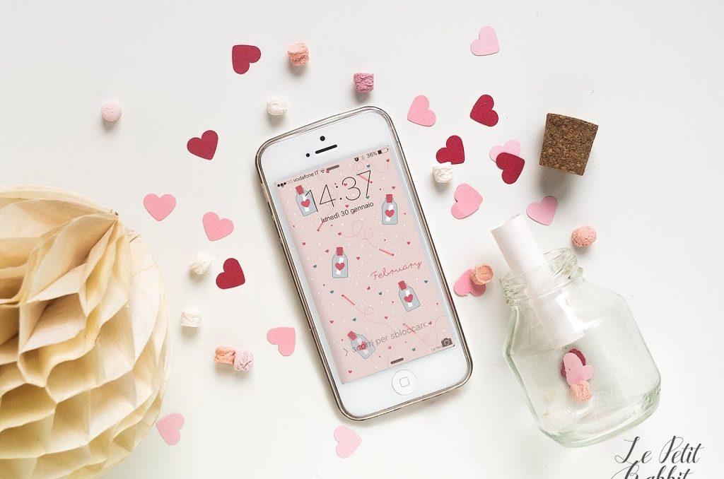 Sfondo gratuito smartphone febbraio