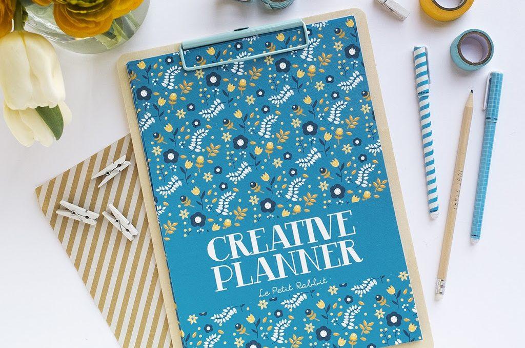 Il Creative Planner per creative e blogger