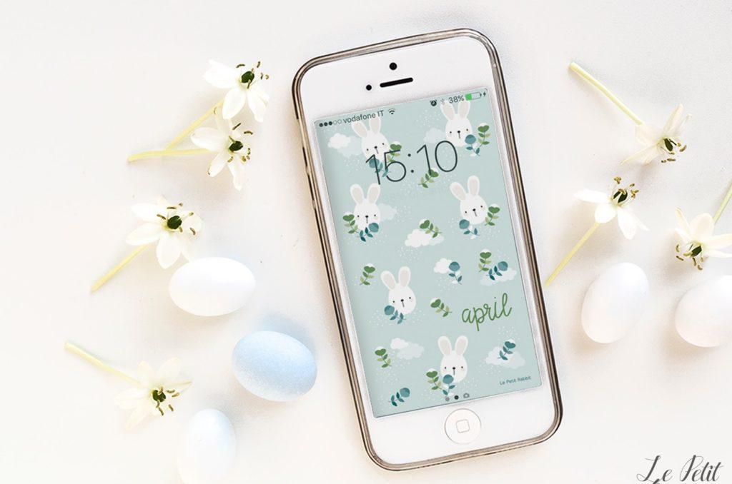 Sfondo gratuito smartphone aprile