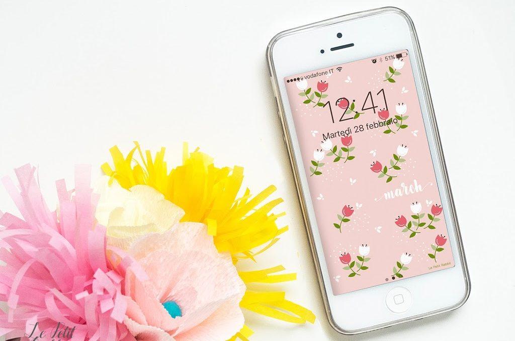Sfondo gratuito per smartphone Marzo