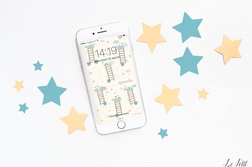 Sfondo gratuito smartphone settembre