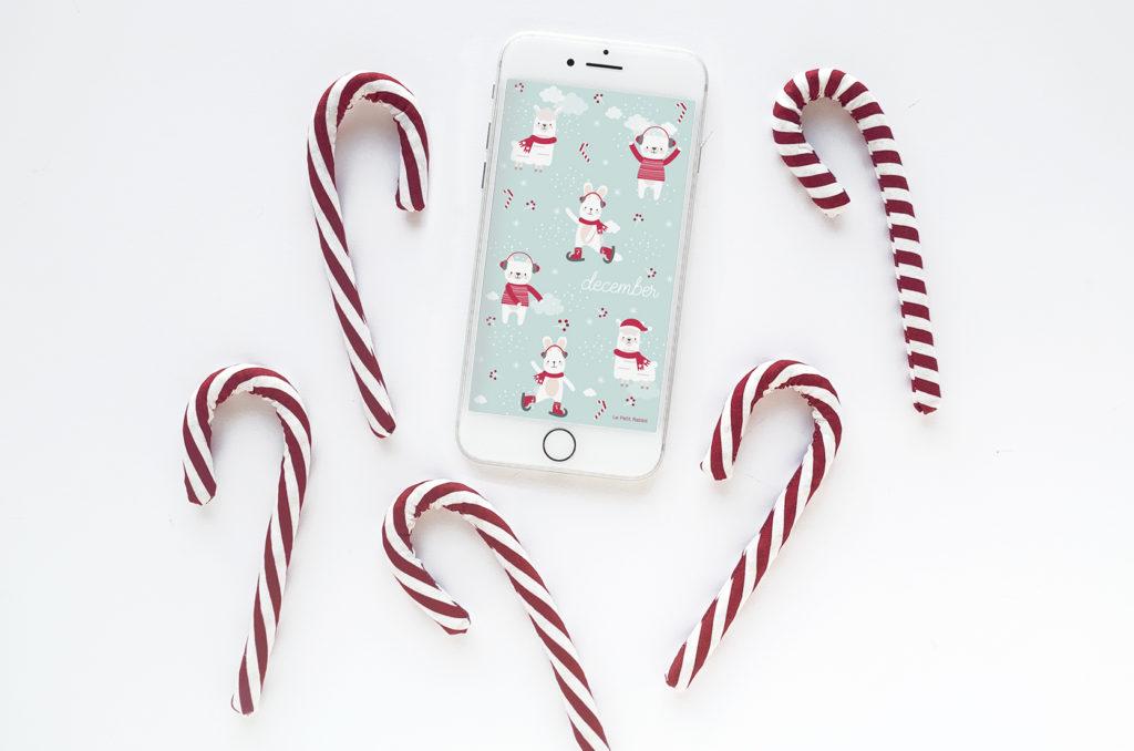 Sfondo gratuito smartphone | dicembre