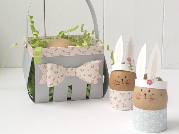 Portauovo di Pasqua in carta | DIY e freeprintable