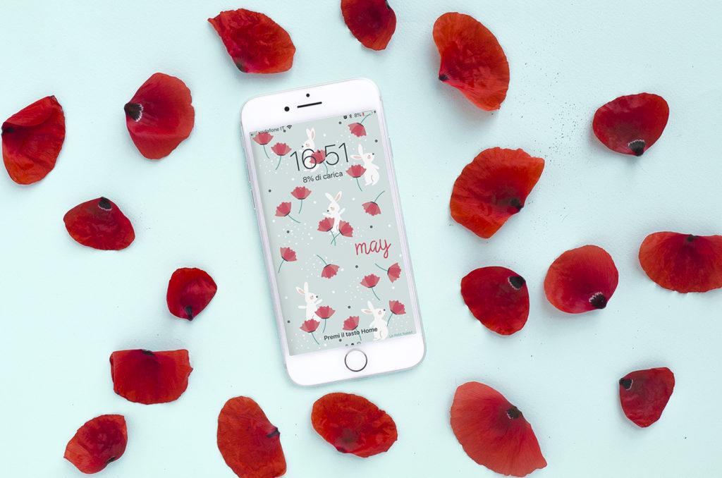 Sfondo smartphone gratuito | Maggio