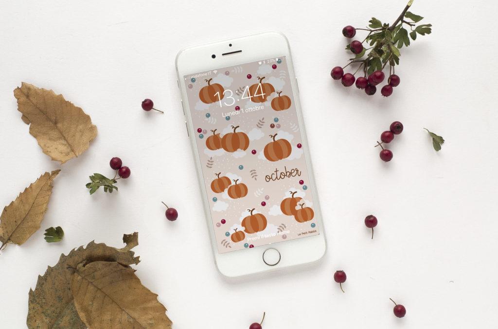 Sfondo smartphone gratuito | ottobre