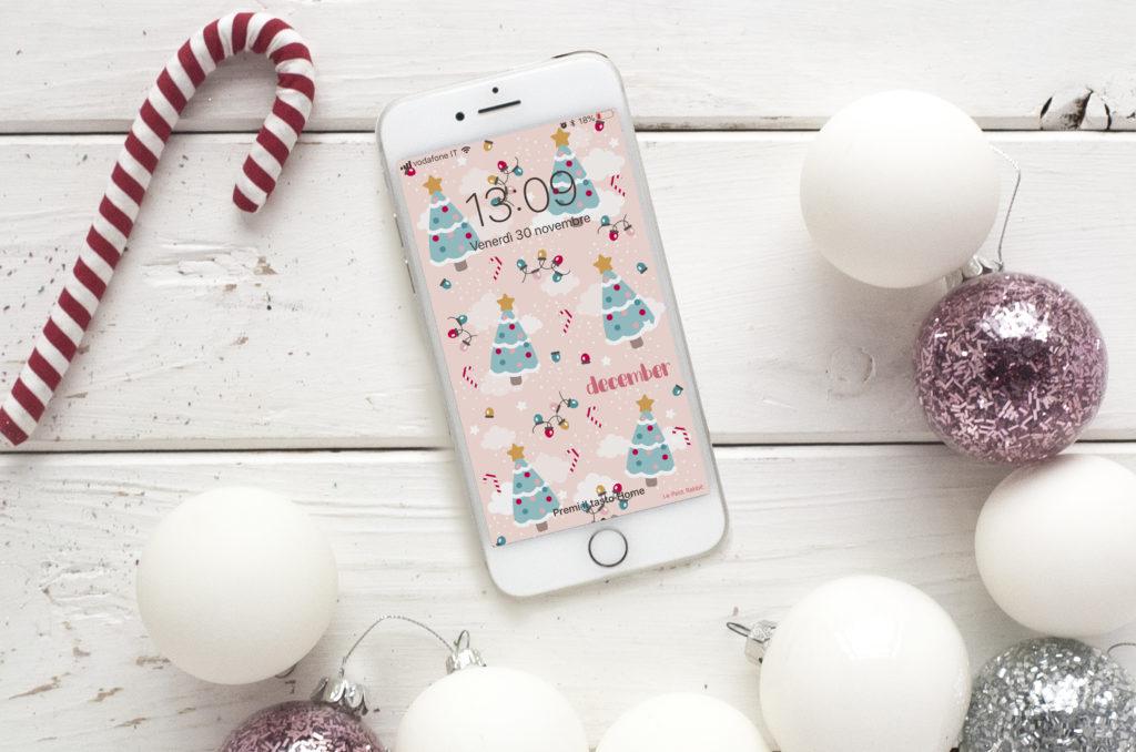 Sfondo smartphone gratuito | dicembre