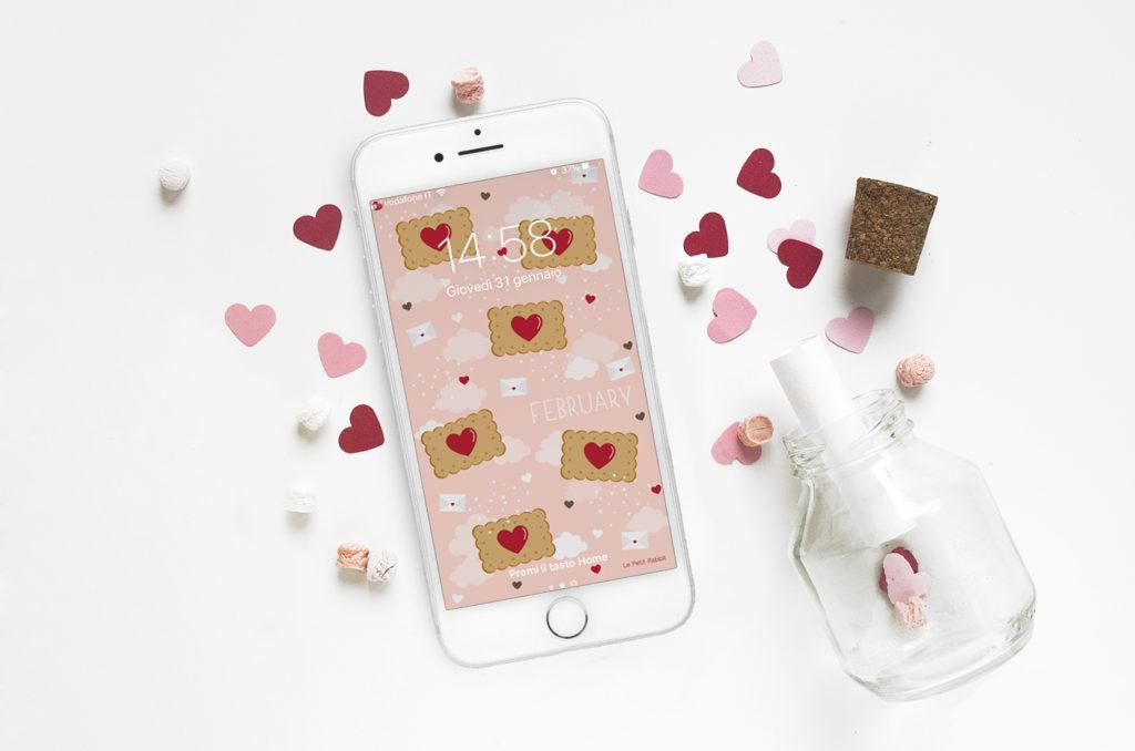 sfondo smartphone gratuito | febbraio