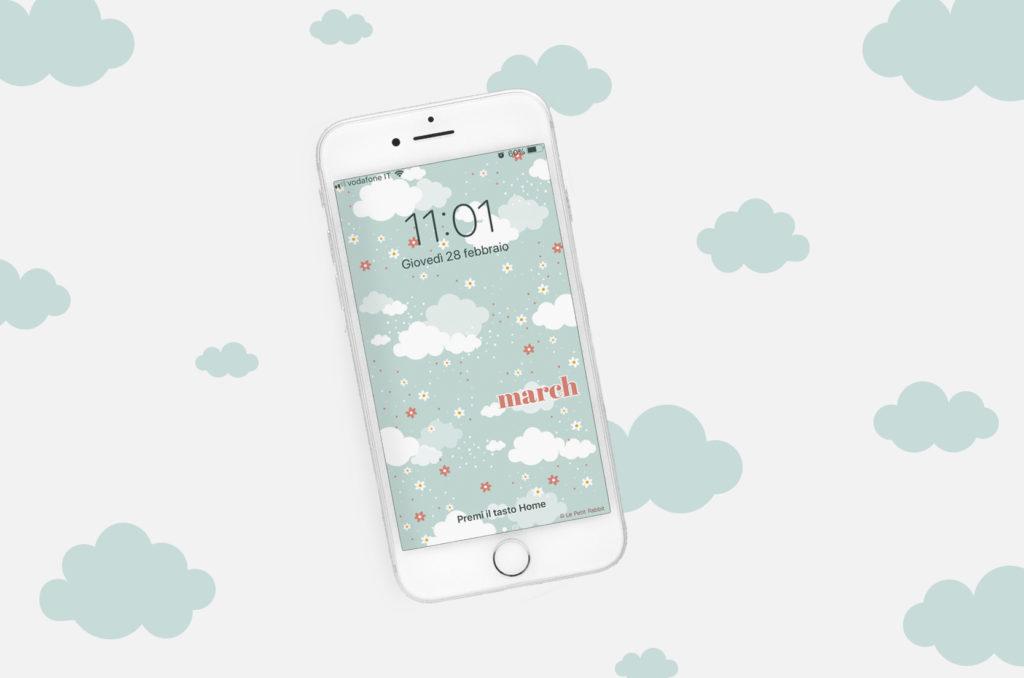 sfondo gratuito smartphone | marzo